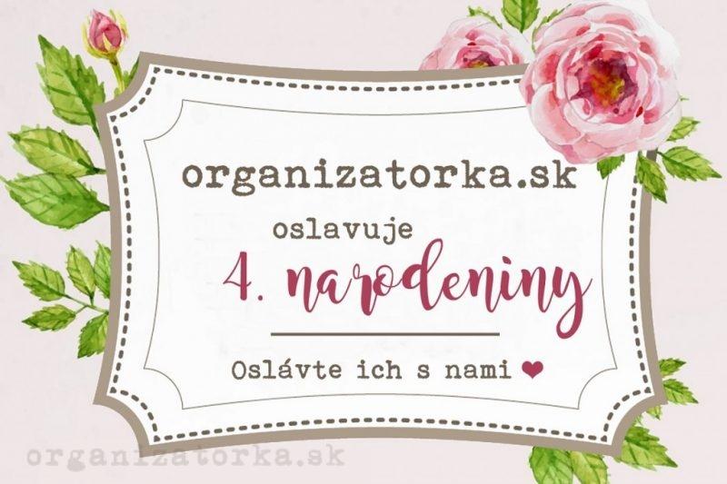 Oslavujeme narodeniny - organizatorka.sk