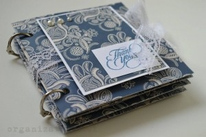 scrapbooking – mini album
