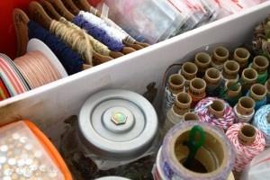 organizovanie - stužky, čipky, drobnosti