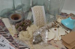 Giveaway - balík vintage materiálu na scrapbooking