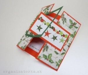 vianočný cardmaking