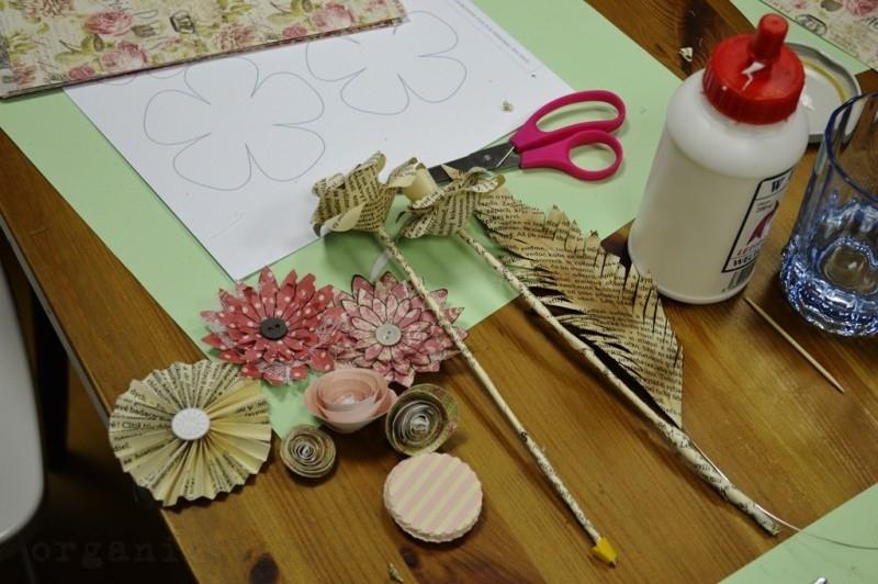 Paper flowers workshop DSC_8158