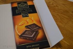 Obal na čokoládu