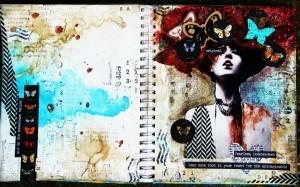 Art Journal Spread 1