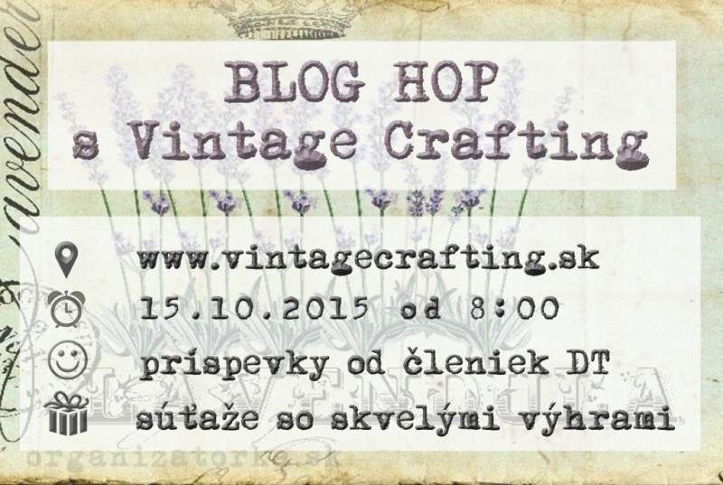 Blog hop s vintage crafting.