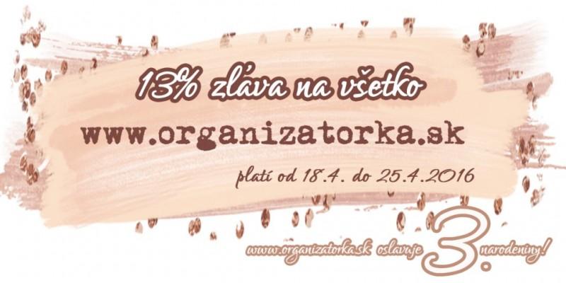 zlava na organizatorka.sk