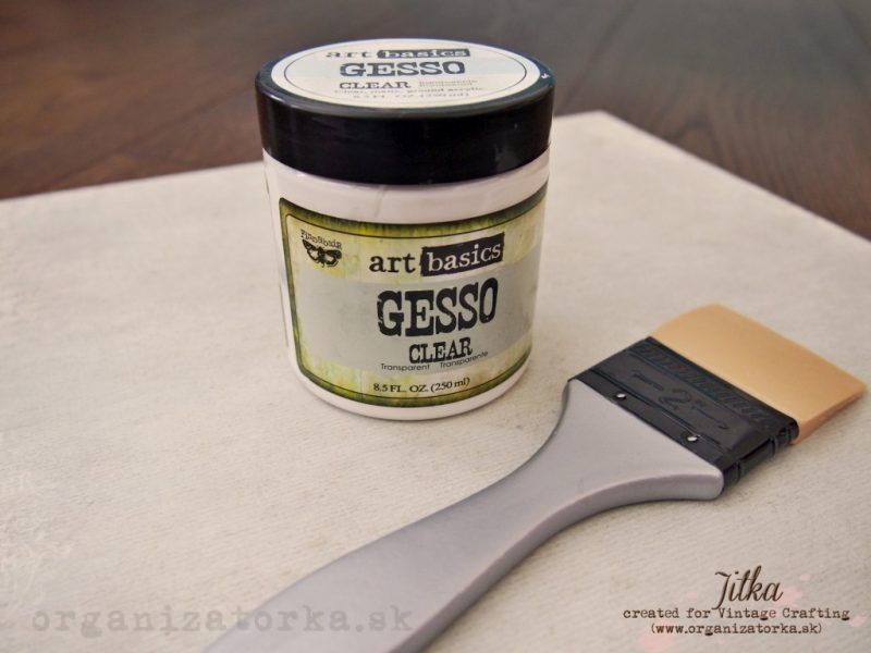 3 - clear gesso x
